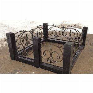 Ограда с гранитом - Комплекс Ода