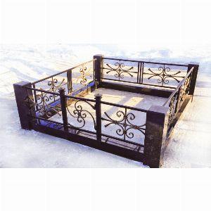 Ограда с гранитом - Комплекс Пантеон
