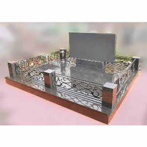 Ограда с гранитом - Комплекс Вега