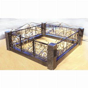 Ограда с гранитом - Комплекс Верба
