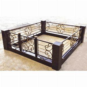 Ограда с гранитом - Комплекс Верона