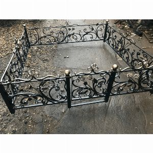 Ограда с гранитом - Комплекс Версаль