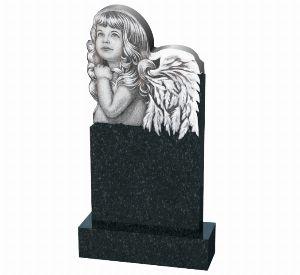 Детский памятник с ангелом - К1001