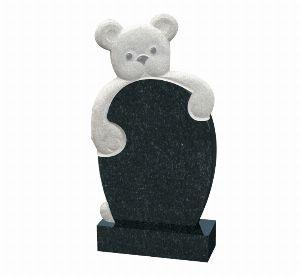 Детский памятник с мишкой - К1002