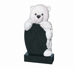 Памятник младенцу на могилу Медведь - К1010