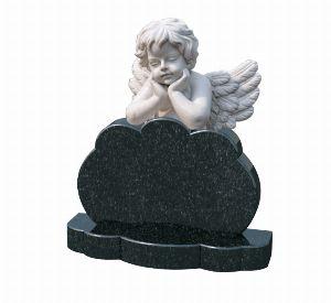Памятник ребенку с ангелом - К1011