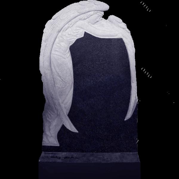 Гранитный памятник с ангелом, арт. L029
