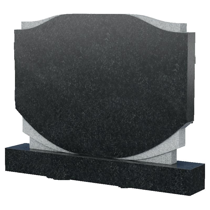 Горизонтальный монумент из натурального камня, арт. М189