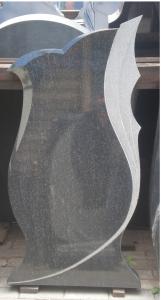 Памятник из гранита габбро-диабаз Фигурный 2