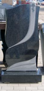 Памятник из гранита-габбро Фигурный