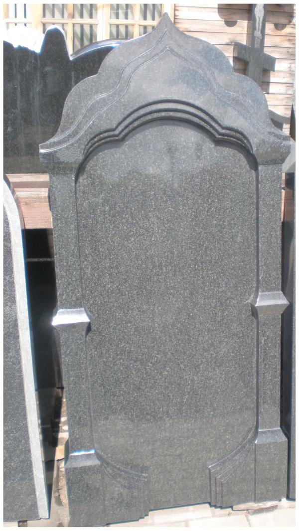 Памятник из гранита габбро-диабаз Купол - 2