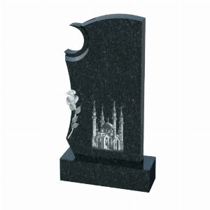 Мусульманский памятник на могилу из гранита, арт. М0028