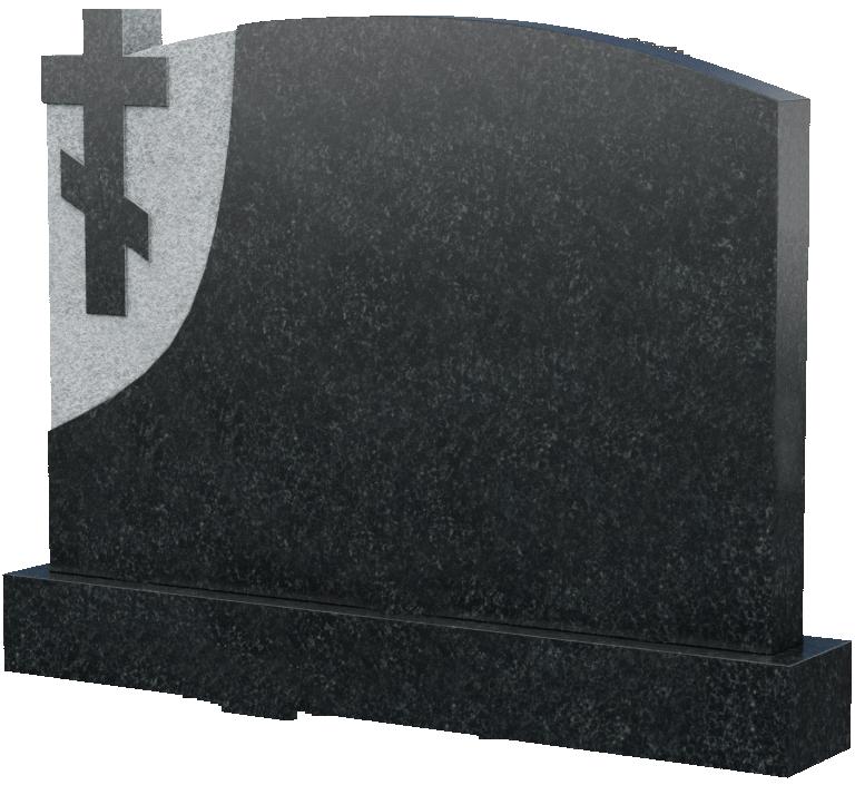 Надгробие с крестом, арт. K014