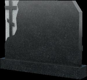 Горизонтальное надгробие из натурального камня, арт. K016