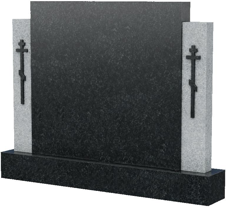 Горизонтальная стела с крестами, арт. K017