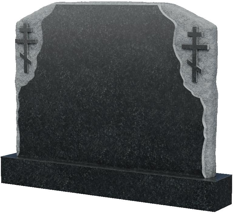 Памятники с двумя крестами, арт. K020