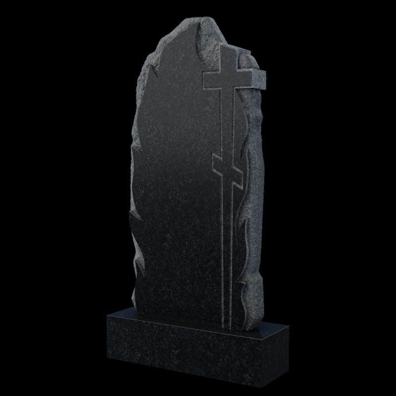 Крест в скале памятник на могилу, арт. П046