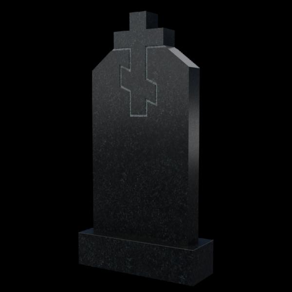 Памятник с крестом из гранита, арт. П048
