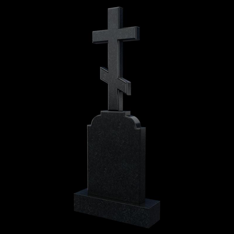 Надгробный крест из гранита, арт. П063