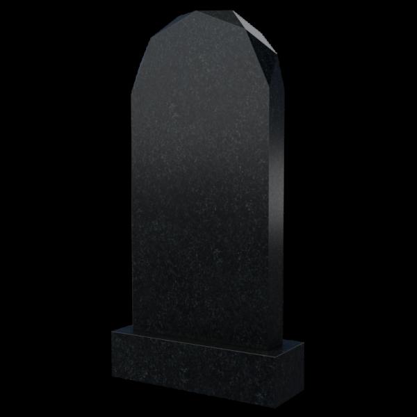 Памятник на могилу в форме алмаза, арт. П020