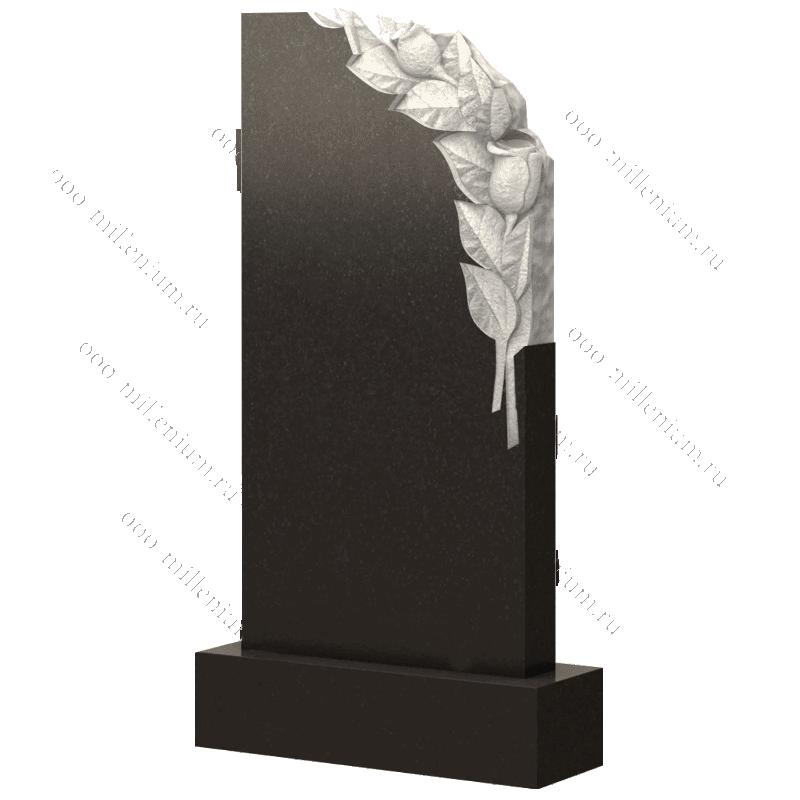 Вертикальная стелла из натурального камня арт. П240