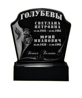 Памятник из литьевого мрамора, арт. ПЛ022