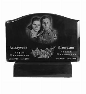 Памятник из литьевого мрамора, арт. ПЛ074
