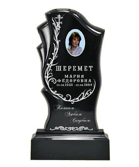 Памятник из литьевого мрамора, арт. ПЛ014