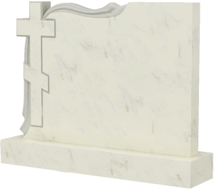 Надгробие из мрамора, арт. ПМ035