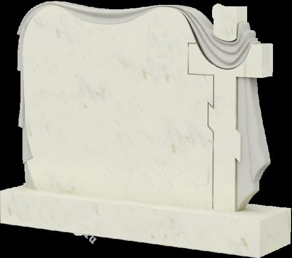 Обелиск на могилу из мрамора, арт. ПМ036