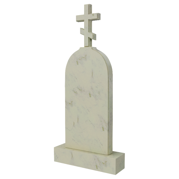 Крест из мрамора, арт. ПМ600