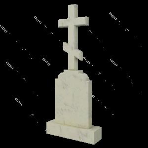Крест из мрамора, арт. ПМ601