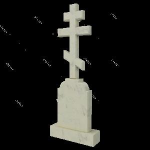 Крест из мрамора, арт. ПМ603