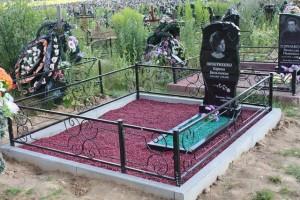Фото благоустройства могил