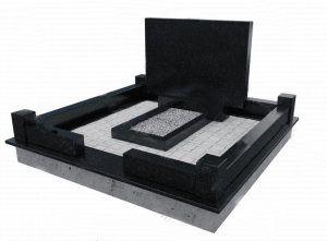 проектирование комплекса на могилу или памятника любой сложности (с крестом, с гранитной оградой или металлической)