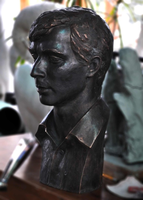 Бронзовая скульптура, арт. Б11