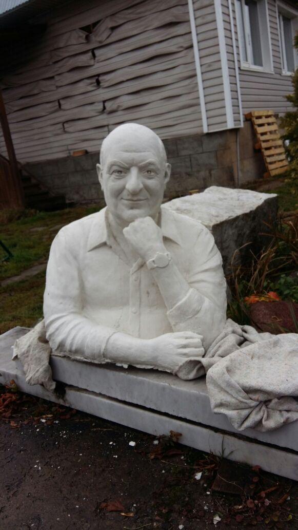 Бронзовая скульптура, арт. Б8