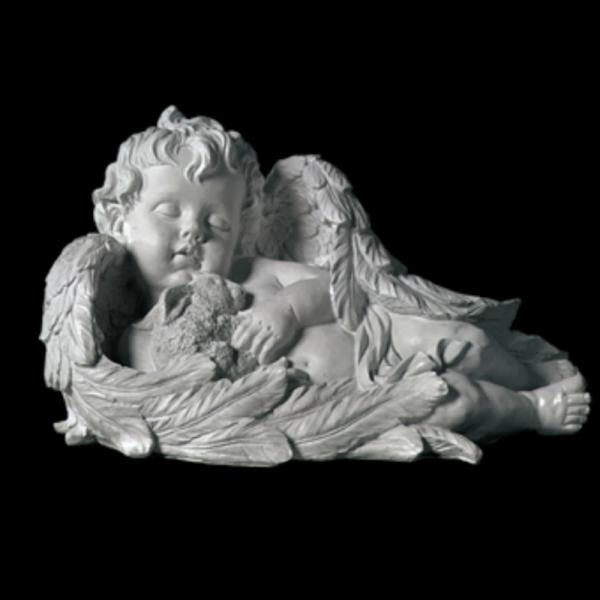 Скульптура - Ангел с зайцем, арт. 006