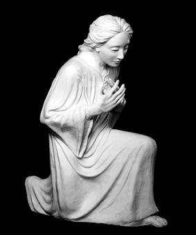 Скульптура - Скорбящая, арт. 016