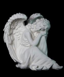 Скульптура - Скорбящая, арт. 021