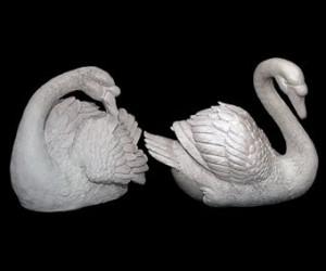 Скульптура - Лебеди, арт. 024