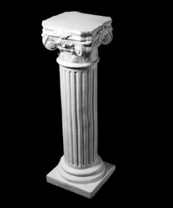 Скульптура - Колонна средняя, арт. 027