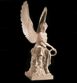 Скульптура - Ангел с венком, арт. 040