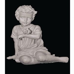 Скульптура - Ангел с птичкой, арт. 057