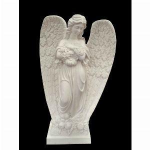 Скульптура - Ангел с цветами, арт. 062